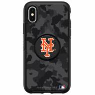 New York Mets OtterBox Urban Camo Symmetry PopSocket iPhone Case