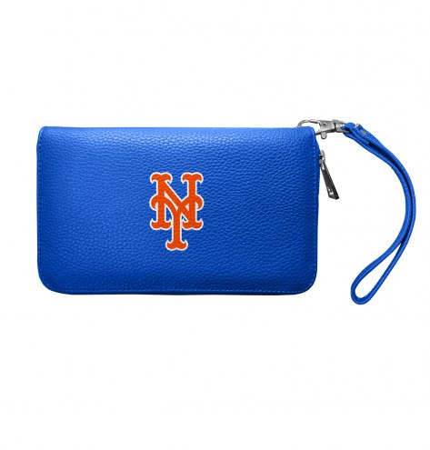 New York Mets Pebble Organizer Wallet