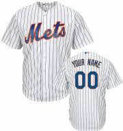 New York Mets Personalized Replica Home Baseball Jersey