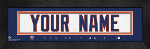 New York Mets Personalized Stitched Jersey Print