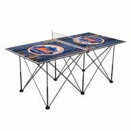 New York Mets Pop Up 6' Ping Pong Table