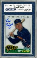 New York Mets Ray Knight Signed 2005 Topps Card