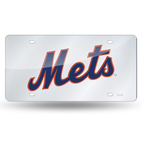New York Mets Rico Laser Cut License Plate