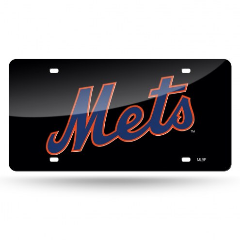 New York Mets Laser Cut License Plate