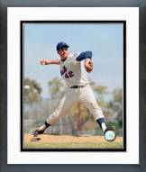 New York Mets Ron Taylor Action Framed Photo