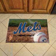 New York Mets Scraper Door Mat