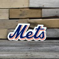 "New York Mets Script 12"" Steel Logo Sign"