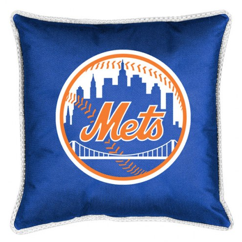 New York Mets Sidelines Pillow