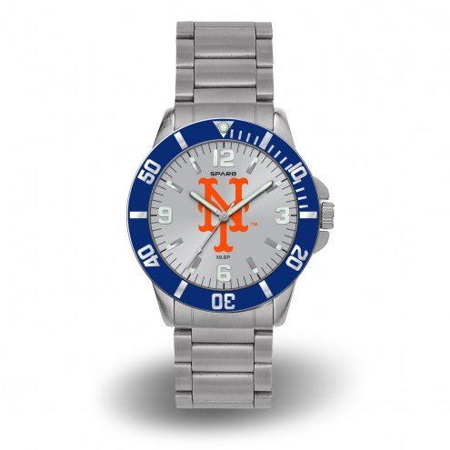 New York Mets Sparo Men's Key Watch