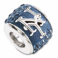 New York Mets Sterling Silver Charm Bead