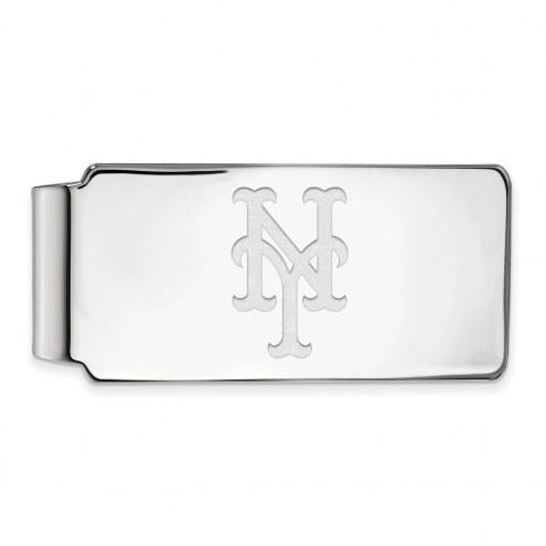 New York Mets Sterling Silver Money Clip