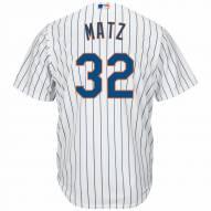 New York Mets Steven Matz Replica Home Baseball Jersey
