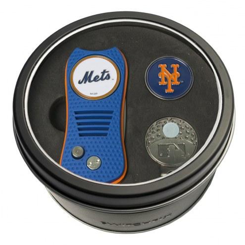 New York Mets Switchfix Golf Divot Tool, Hat Clip, & Ball Marker