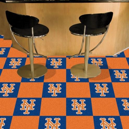 New York Mets Team Carpet Tiles