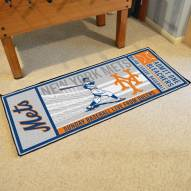 New York Mets Ticket Runner Rug