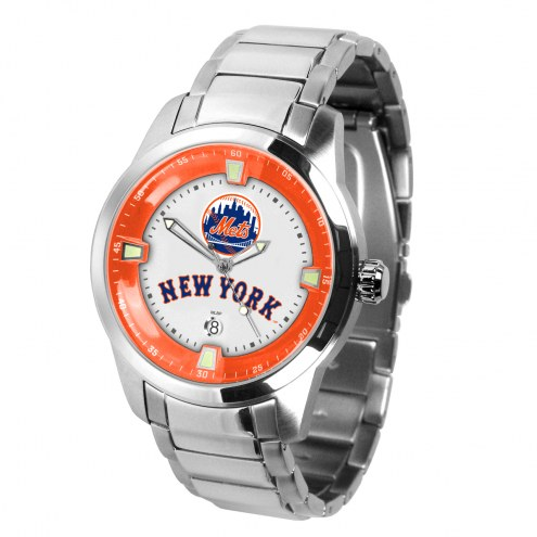 New York Mets Titan Steel Men's Watch