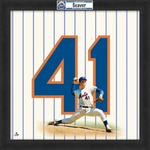 New York Mets Tom Seaver Uniframe Framed Jersey Photo