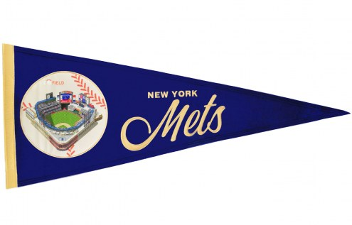 New York Mets Vintage Ballpark Traditions Pennant
