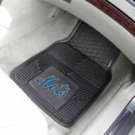 New York Mets Vinyl 2-Piece Car Floor Mats