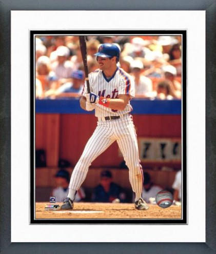 New York Mets Wally Backman Framed Photo