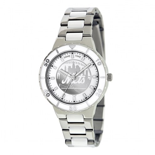 New York Mets Womens Pearl Watch