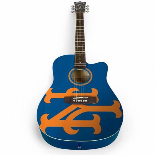 New York Mets Woodrow Acoustic Guitar