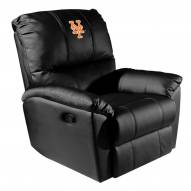 New York Mets XZipit Rocker Recliner with Secondary Logo
