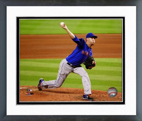New York Mets Zack Wheeler Action Framed Photo