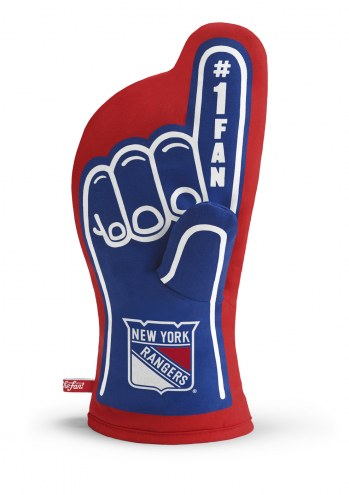 New York Rangers #1 Fan Oven Mitt
