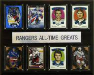 """New York Rangers 12"""" x 15"""" All-Time Greats Plaque"""