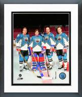 New York Rangers 1994 All-Star Team Posed Framed Photo