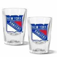 New York Rangers 2 oz. Prism Shot Glass Set