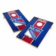 New York Rangers 2' x 3' Vintage Wood Cornhole Game