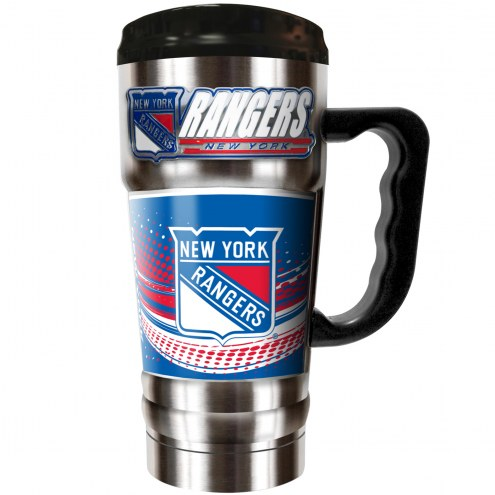 New York Rangers 20 oz. Champ Travel Mug