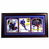 New York Rangers 2017 Stars 3 Photo Signed and Framed Collage