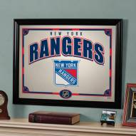 "New York Rangers 23"" x 18"" Mirror"