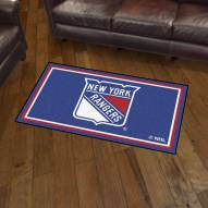New York Rangers 3' x 5' Area Rug