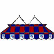 "New York Rangers 40"" Stained Glass Billiard Lamp"
