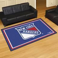 New York Rangers 5' x 8' Area Rug