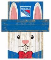"New York Rangers 6"" x 5"" Easter Bunny Head"