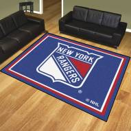 New York Rangers 8' x 10' Area Rug