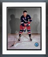 New York Rangers Andy Bathgate Posed Framed Photo