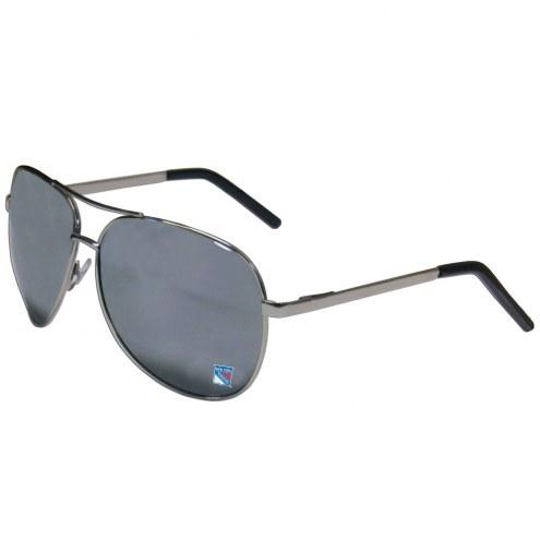 New York Rangers Aviator Sunglasses