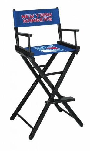New York Rangers Bar Height Director's Chair