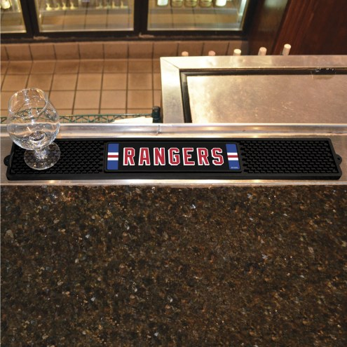 New York Rangers Bar Mat
