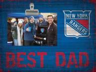 New York Rangers Best Dad Clip Frame