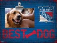 New York Rangers Best Dog Clip Frame