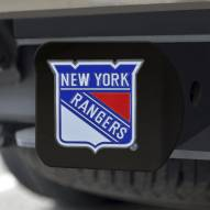 New York Rangers Black Color Hitch Cover