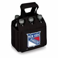 New York Rangers Black Six Pack Cooler Tote