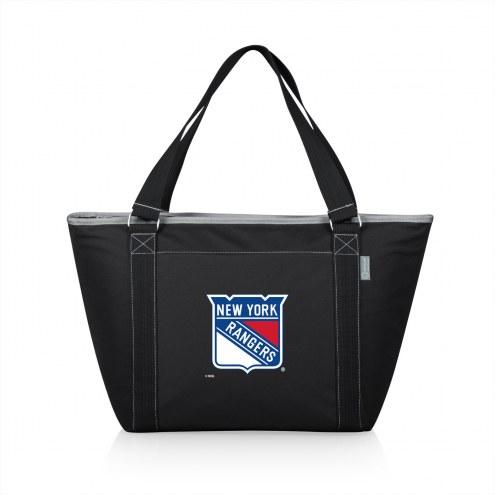 New York Rangers Black Topanga Cooler Tote